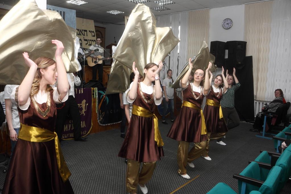 танцевальная группа «Эш Хаим»